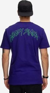 T-shirt Bor z bawełny z krótkim rękawem