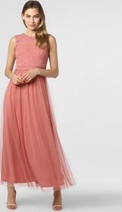 Różowa sukienka Vila z tiulu