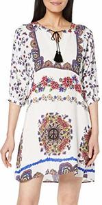 Sukienka amazon.de mini oversize z długim rękawem