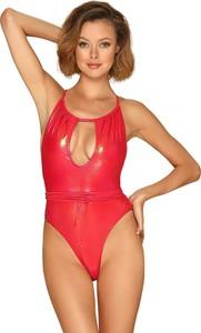 Czerwony strój kąpielowy Obsessive w stylu casual