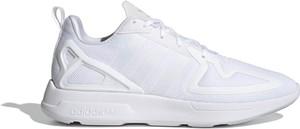 Buty sportowe Adidas zx flux z płaską podeszwą sznurowane