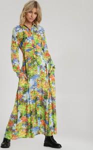 Sukienka Renee z długim rękawem w stylu boho