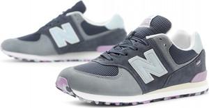 84fc1d24e Buty sportowe New Balance sznurowane w sportowym stylu