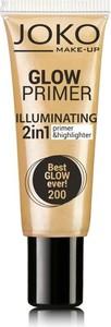Joko, Glow Primer, emulsja rozświetlająca 2w1, nr 200, best glow ever!, 25 ml