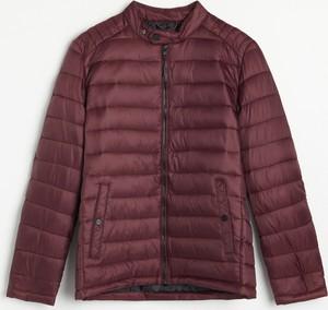 Czerwona kurtka Reserved krótka w stylu casual