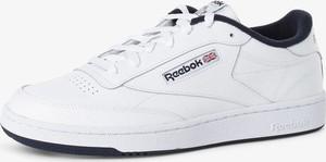 Reebok - Męskie tenisówki ze skóry, biały
