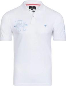 Koszulka polo Fynch Hatton z bawełny