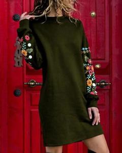 Sukienka Kendallme z okrągłym dekoltem
