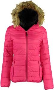 Różowa kurtka Canadian Peak w stylu casual krótka