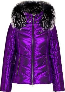 Fioletowa kurtka Sportalm z tkaniny