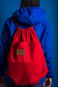 Plecak REST_FActory z tkaniny