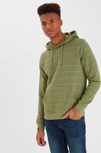 Zielona bluza Blend z bawełny