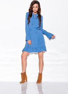 Niebieska sukienka Merg mini