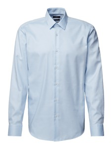 Koszula Hugo Boss z bawełny z długim rękawem z klasycznym kołnierzykiem