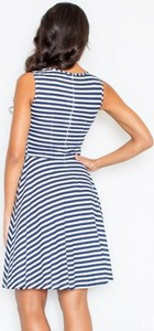 Sukienka Figl mini z bawełny
