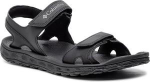 Granatowe buty letnie męskie Columbia w stylu casual