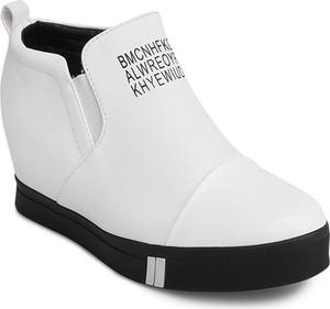 Gemre sneakersy tl252a biaÂły