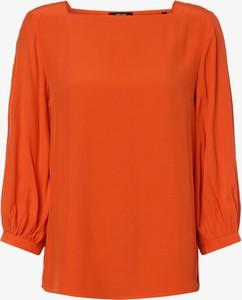 Pomarańczowa bluzka Opus z długim rękawem