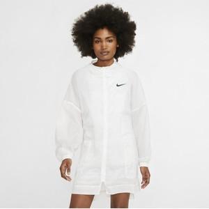 Kurtka Nike w sportowym stylu z tkaniny