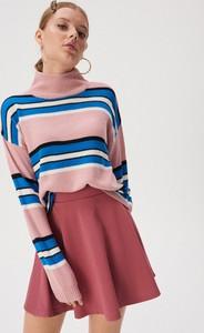 Różowa spódnica Sinsay mini