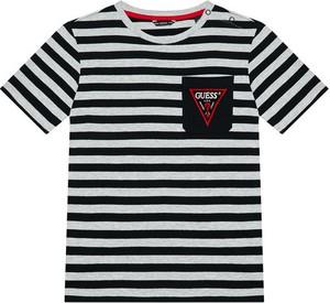 Bluzka dziecięca Guess w paseczki