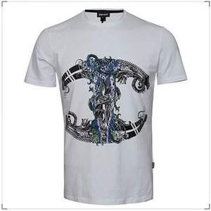 T-shirt Just Cavalli z nadrukiem w młodzieżowym stylu