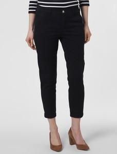 Granatowe spodnie MAC w stylu klasycznym