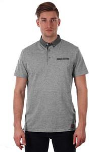 Koszulka polo Just yuppi z krótkim rękawem z tkaniny