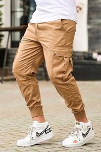 Pomarańczowe spodnie Duuf