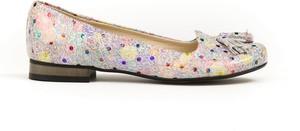 Baleriny Zapato z zamszu z płaską podeszwą