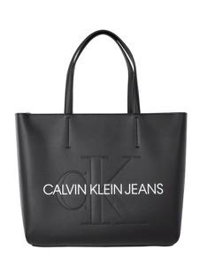 7d6190a5d Czarna torebka Calvin Klein w wakacyjnym stylu duża
