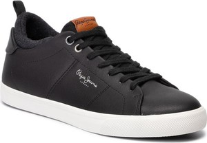 Pepe Jeans Sneakersy Marton Basic PMS30501 Czarny