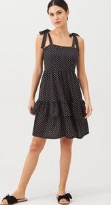 Czarna sukienka V by Very