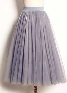 Spódnica Cikelly z tiulu midi