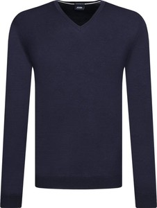 Granatowy sweter Joop! Collection z wełny