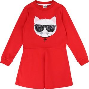 Sukienka dziewczęca Karl Lagerfeld