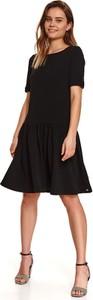 Sukienka Top Secret z okrągłym dekoltem z tkaniny mini