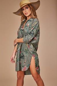 Sukienka 100% Lin mini z lnu