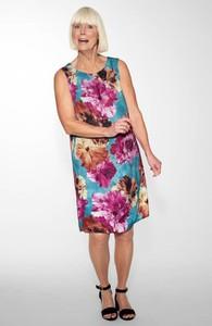 Sukienka Cellbes w stylu casual trapezowa z okrągłym dekoltem