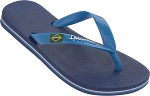 Granatowe buty dziecięce letnie Ipanema dla chłopców