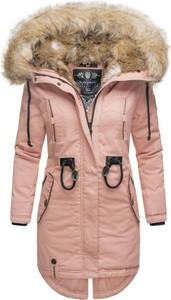 Różowa kurtka Navahoo