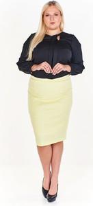 Żółta spódnica Fokus