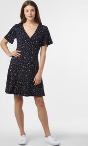 Sukienka Esprit z krótkim rękawem w stylu casual z dekoltem w kształcie litery v