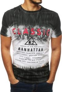 T-shirt Dstreet z bawełny z nadrukiem