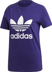 Niebieski t-shirt Adidas Originals