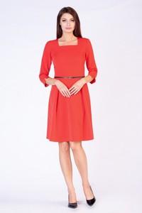3b77e69a15 obcisła czerwona sukienka - stylowo i modnie z Allani