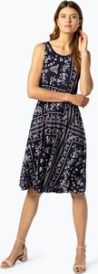 Sukienka S.Oliver midi bez rękawów z okrągłym dekoltem