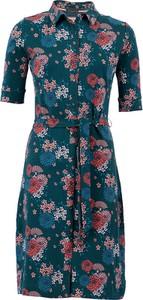Sukienka 4funkyflavours koszulowa z długim rękawem