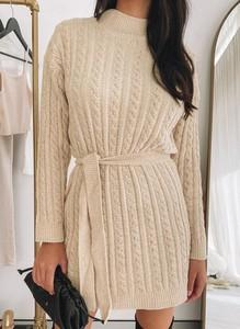 Sukienka Cikelly z dresówki w stylu casual
