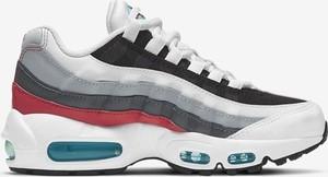Buty sportowe Nike ze skóry air max 95 sznurowane
